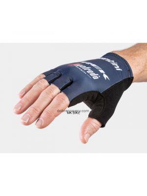 Rękawiczki rowerowe męskie Santini Trek-Segafredo